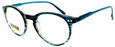 THRICE Vision Multi-Focus Progressive Reading Glass Key Hole crystal color fade