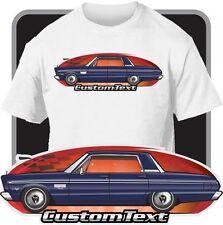 Custom Art T-Shirt 65 1965 Plymouth Fury II III 426 4 door Hardtop V8
