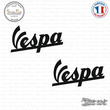 2 Stickers vespa Logo Decal Aufkleber Pegatinas PIA3 Couleurs au choix