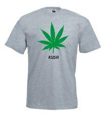 Maglia J490 Kush T-shirt foglia Marijuana rebel legalize