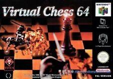 N64 Virtual Chess 64  / Zustand auswählbar