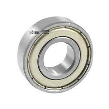 6001ZZ Bearing 12x28x8 Shielded 6001 ZZ 2Z 6001Z 12mm Axle/Bore/Diameter/ID mm