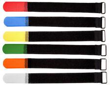 Klettkabelbinder 16 20 25 30 mm breit Metallöse Kabelklett Klett Kabelbinder