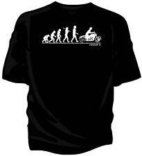 Evolution of Man, Triumph Rocket 3 classic bike t-shirt