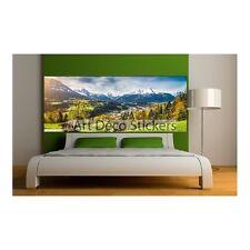 Stickers Tête de lit déco Paysage montagne 9112