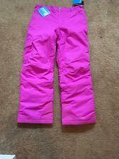 NWT Columbia Girls Arctic Trip Outgrown Snow Pants Pink Sz: 4/5 & 14/16