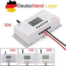 10A 20A 30A 40A 12V-24V MPPT Solar Laderegler Solarregler mit LCD-Anzeige SP