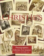 CHRISTIE'S French Photographs Nude Orient Nadar Brassai