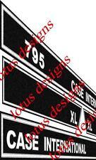 Cas International 795xl stickers / autocollants