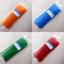 3x200mm High Quality 5 Colors Multi-purpose Self-locking Nylon Cable Tie