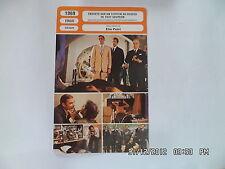 CARTE FICHE CINEMA 1969 ENQUETE SUR UN CITOYEN AU DESSUS DE TOUT SOUPCON Volonte