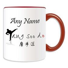 Personalised Gift Tang Soo Do Kick Mug Money Box Cup Kung Fu TSD TangSooDo Name
