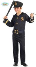 Polizei Kinderkostüm Polizisten Kostüm für Kinder Gr. 110-146