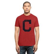 MLB Cleveland Indians 47 Squadra Knockaround T-Shirt Maglietta Maglia Uomo