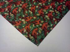 Dog Bandana/Scarf Tie On Christmas Cardinals Custom Made by Linda xS, S, M, L