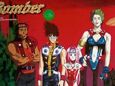 "Fire Bomber Vintage Anime Poster Japan 20 x 29"" Super Rare!"