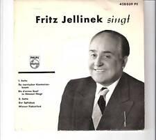 FRITZ JELLINEK - singt                         ***EP***