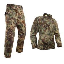 Tactical Bionic Python Camouflage Hunting Clothes Jacket Pants Suit Set
