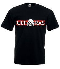 T-shirt Maglietta J1365 Ultras Milan Skull Fossa dei Leoni Curva Sud