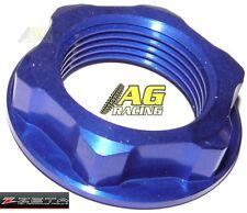 Zeta Stem Nut Blue Suzuki RM 125 250 04-12 RMZ 250 07-12 RMZ 450 05-12 RMX 450