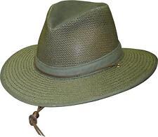 New Henschel Men's Polycotton Packable Mesh Breezer Safari Hat