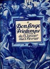 """CATALOGUE MODE DES MAGASINS """"AU PRINTEMPS"""" 1924 SUPERBE"""