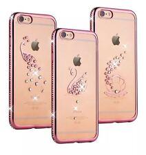 iPhone 7,7 Plus/ 6,6S Plus/ 6, 6 Plus Blink Case TPU Rhinestones Soft Back Cover