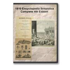 1810 Encyclopedia Britannica: Complete 20 Volume 4th Edition - E25