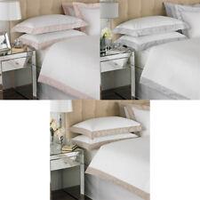 Paoletti Petite Fleur 100% Cotton 200 Thread Count Embellished Duvet Cover Set
