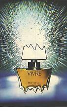 PUBLICITE ADVERTISING 1972  MOLYNEUX  parfum Vivre