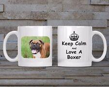 Boxer Mug, Keyring, Coaster  - Dog Breed, Christmas, Birthday Gift