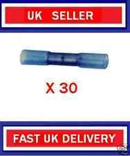 BLUE HEAT SHRINK Butt Connectors X30 morsetti