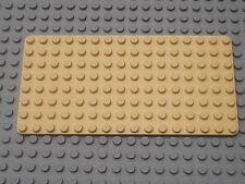 LEGO Belville paradisia LtYellow baseplate 8 x 16 / Plaque de base jaune clair..