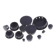 4Pcs/lot Black Plastic Round Tube Hole Plug Pipe End Cap Cover New BLCA