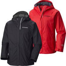 "New Boys Columbia ""Watertight"" Omni-Tech Waterproof 360° Reflective Rain Jacket"