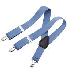 Clips N Grips Childrens Toddlers Adjustable Suspender Kids Suspenders Light Blue