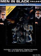 Men in Black/Men in Black 2/Men in Black 3 Giftset with Worm Figurine Blu-ray +