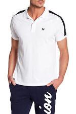 $89 Raglan Polo True Religion Men Polo Shirts White Black T 100215