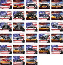 Mauspad mit Motiv: Cadillac Modelle US Car Mousepad Handauflage
