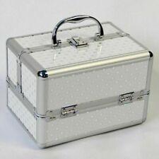 Cosmetic Storage Case Jewelry Makeup Organizer Bag Box Suitcase Women Salon Tool
