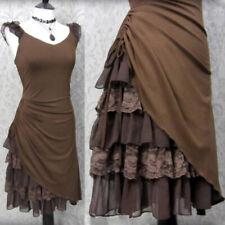 Women's Corset Pixie Dress Romantic Medieval Fancy Dress Victorian Goth Costume