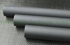 1pcs 3k Carbon Fiber Tube 21mm 22 23mm 24mm 25mm 26mm 27 28mm 29mm 30mm X 500mm