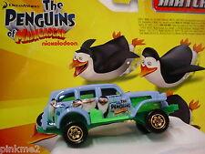 2012 MATCHBOX the Penguins Madagascar✿JUNGLE CRAWLER✿Blue/Green✿New loose