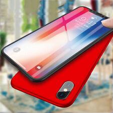 360° Schutzhülle + Panzerglas für iPhone X Full Cover Hülle Komplette Schutz
