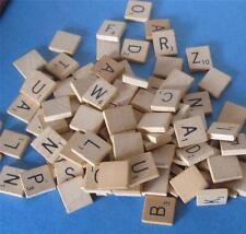 Wooden SCRABBLE Letter Tile U Pick Your Choice standard size alphabet game piece