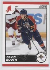 2010-11 Score #217 David Booth Florida Panthers Hockey Card