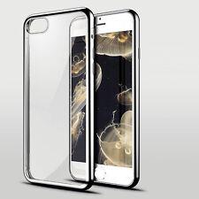 Case Transparent Crystal Clear Case Gel TPU Soft Cover Skin iPhone 7 & 7 Plus