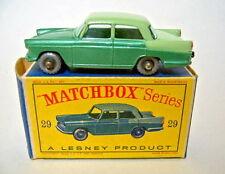"Matchbox RW 29B Austin Cambridge silberne Räder ""D"" Box"