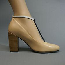 Clarks Crumble Berry Tan Combi 26106433 Damenschuhe Pumps beige Leder