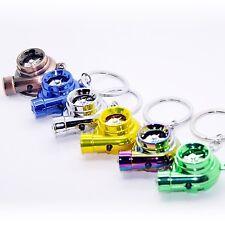 Elektro Turbo Schlüsselanhänger - Mit Sound & Licht Turbolader Keychain chrom